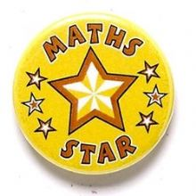 Maths Star Badge